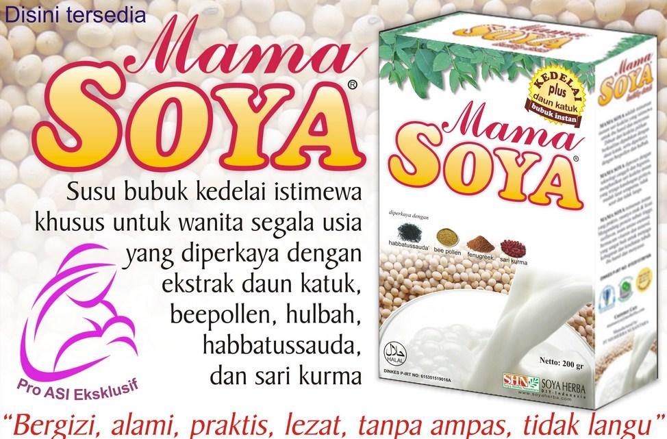 mama soya herbal pelancar asi diminati dan dicari karena khasiatnya teruji di jakarta pusat