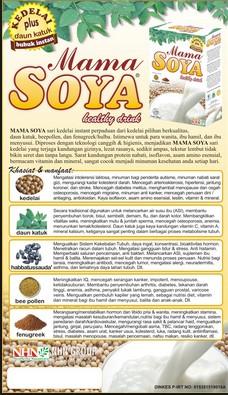 mama soya herbal pelancar asi diminati dan terbukti karena khasiatnya teruji di jakarta timur