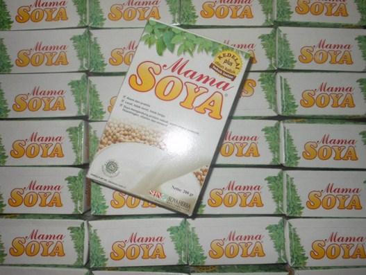 mama soya herbal pelancar asi diminati dan dicari karena khasiatnya teruji di jakarta utara