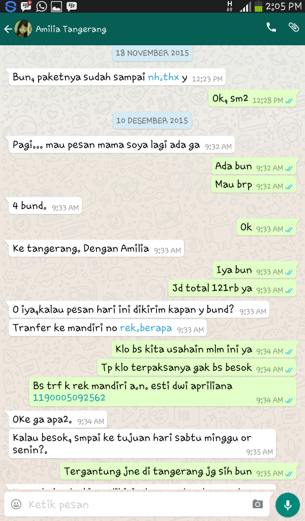 mama honey herbal pelancar asi harga murah