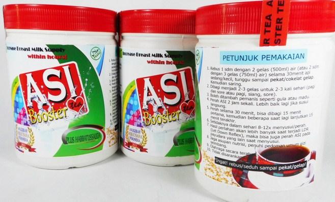 jual asi booster tea pelancar asi paling ampuh di palembang