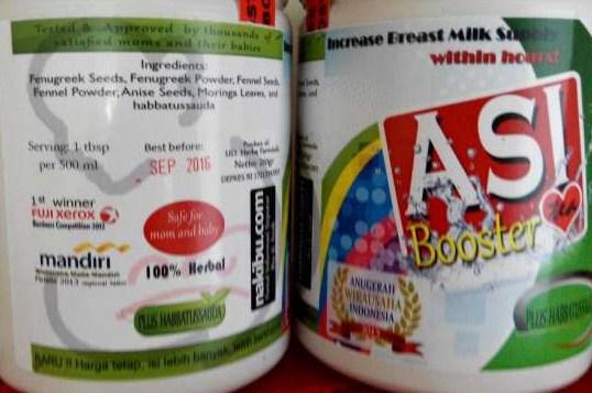 jual pelancar asi booster tea di kelapa gading jakarta harga grosir