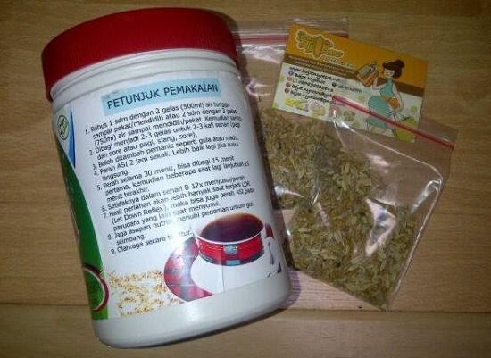 jual pelancar asi booster tea di kelapa gading jakarta harga murah
