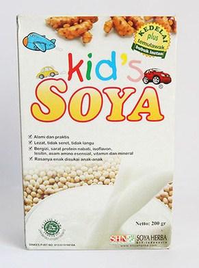 amankah susu kedelai untuk bayi