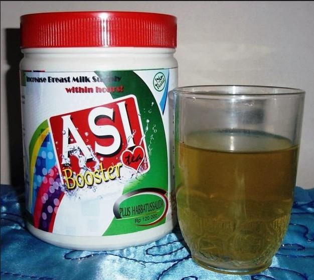 asi booster tea pelancar air susu ibu pontianak kalimantan barat